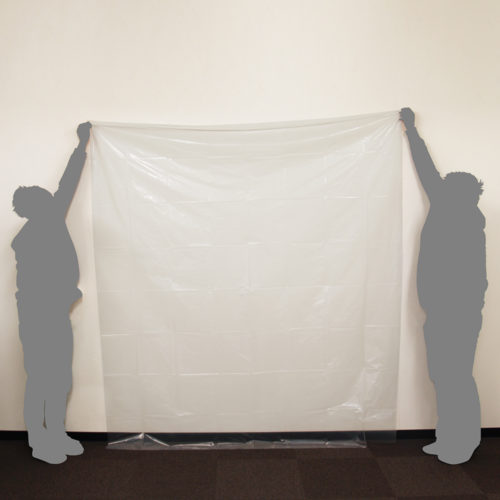 As you can see, two men with a height of about 170 cm opened the sheet. Since two king size sheets are contained, you may be able to enjoy the play very much.
