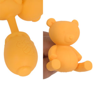 (Teddy Bear)The circle-formed insertion part is a honey pot and the Teddy Bear is of a realistic seamed pattern! And of course it's not only cute it's also a great anal plug that fits just perfectly.