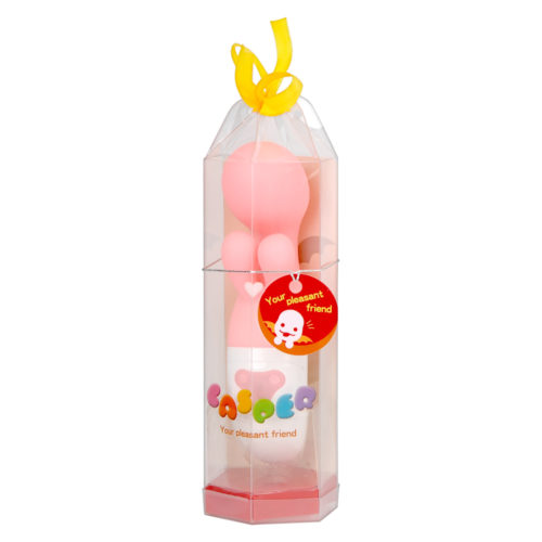 A clear package with a cute ghost character and ribbon leaving an innocent impression, just perfect for ladies!