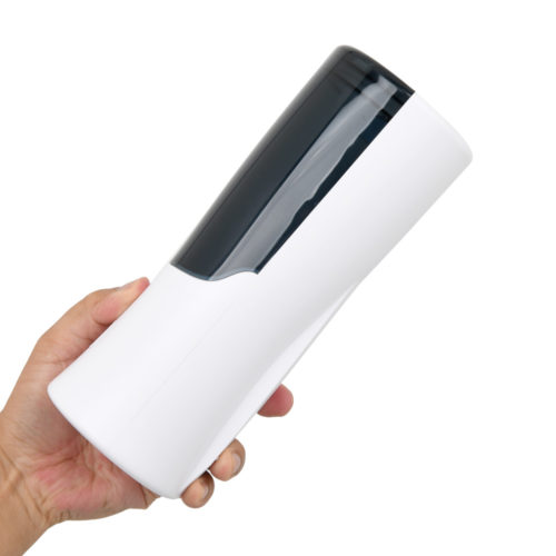 It is around the size of a large-type handheld stroker; considerably compact for an automatic masturbator and easy to use.