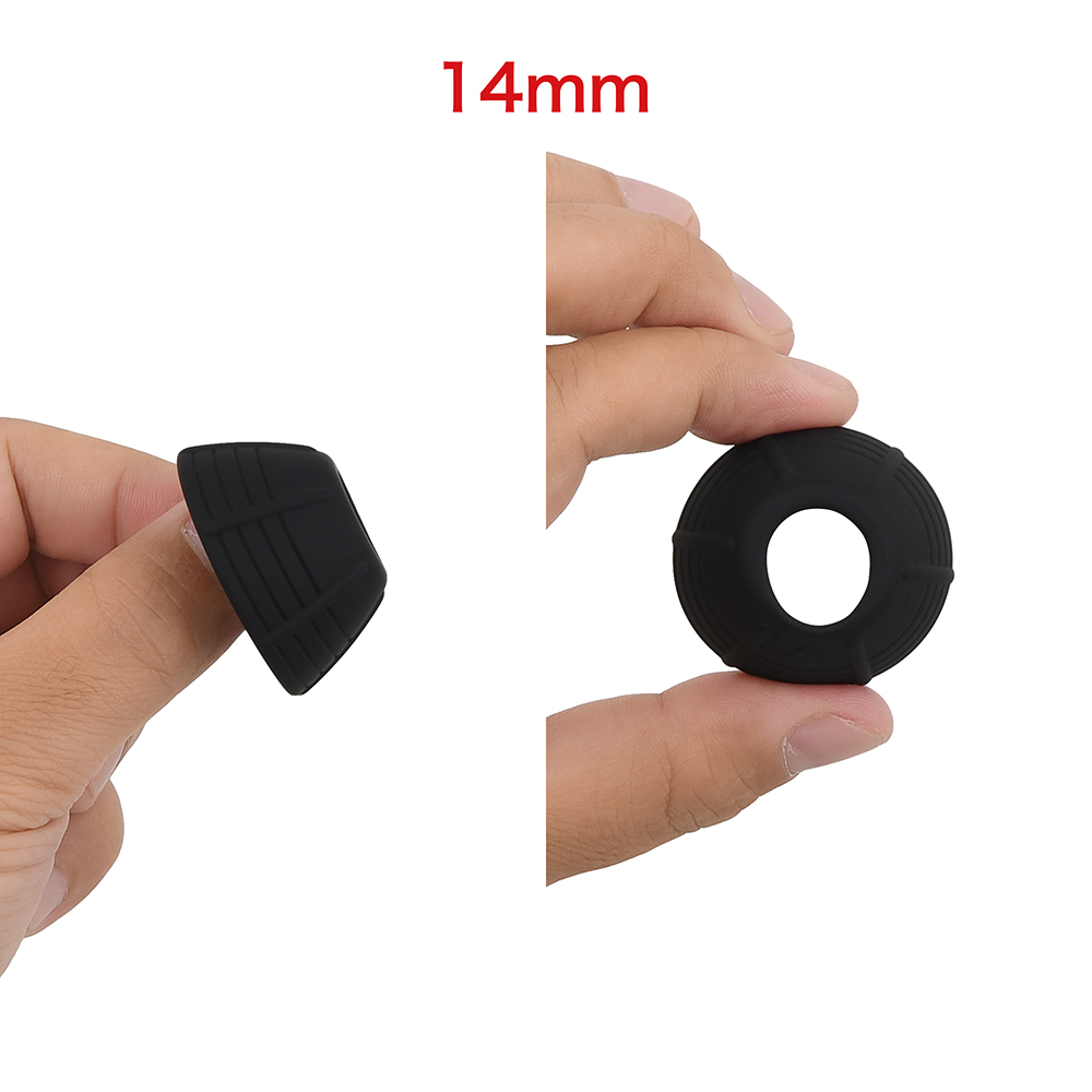"""The smallest inner diameter of all seven sizes is 14mm (0.55""""). Recommended for those who want a secure grip which prevents it from falling off."""