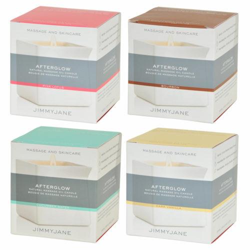 香りの違いで4タイプ。オシャレで高級感のあるパッケージで女子受けも良さそうです。