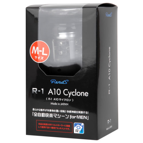 R-1シリーズ共通の精悍な黒パッケージ。 ※本品は別売りのR−1コントローラーに差し込むことで楽しむことができます。