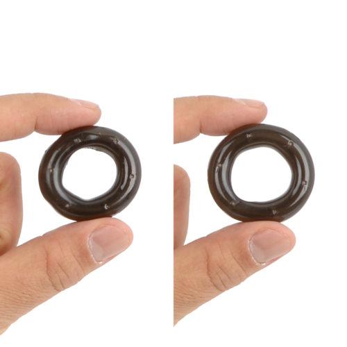 【Lサイズ/LLサイズ】自分の最適サイズより小さめを選べば締め付け効果はアップしますが、やや窮屈かも…。