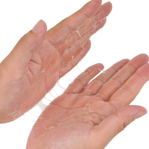 成分やテクスチャーはチューブタイプのスタンダードと同一です。半水溶性の素晴らしさを実感してください。