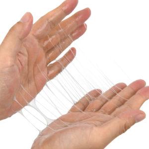 ベタ付く一歩手前の絶妙な糸引き。ハンドプレイの潤滑と性感をブーストさせ、各種成分で男性力をサポートします。