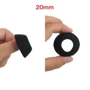 全7サイズ中、中間内径がこちらの20mm。矯正具としてはスタンダードな寸法で、ほとんどの日本人男性にフィットするでしょう。