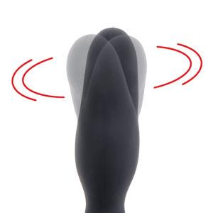 ヘッド部分のみが独自にスイングする、他では体験できない動きでアナラ―を魅了。じっくり低速、激しい高速の2二段階切り替えでスイートスポットを探ります。