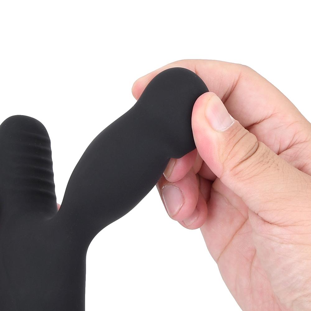 少し大きめのヘッドは心地よいハリがあります。グッと前立腺を圧迫するも、痛みは与えない絶妙な硬度です。