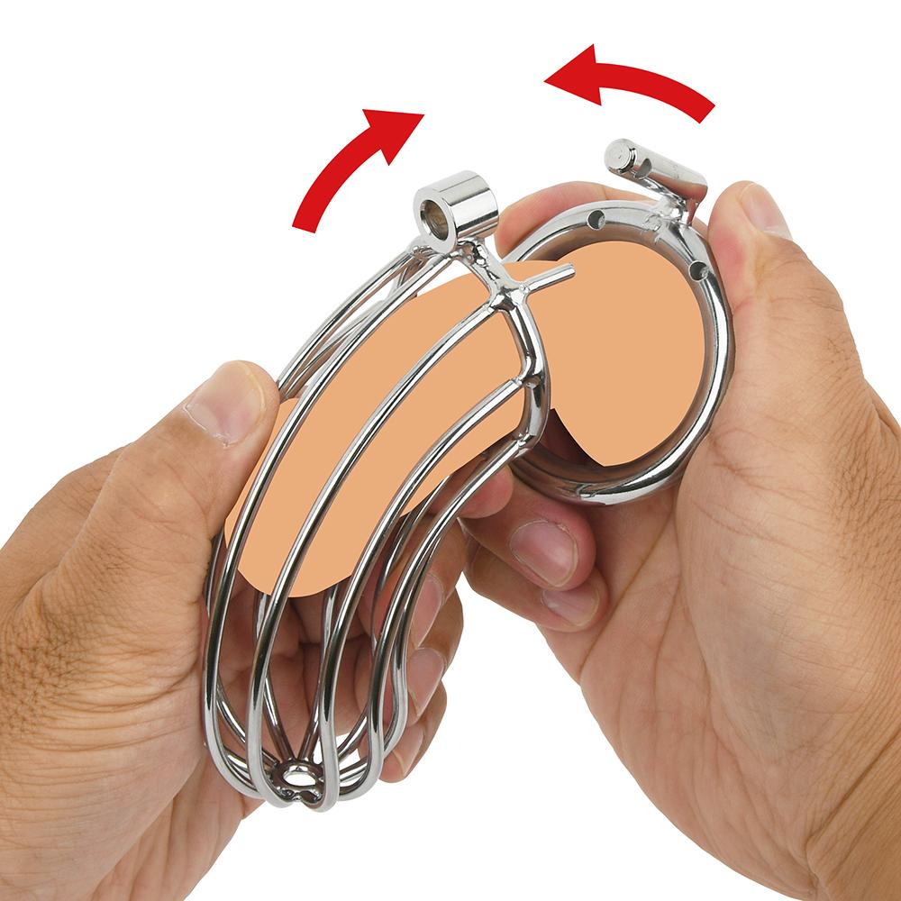 リングに竿と玉を通してからカバーに竿を入れ、リングの突起をカバーの穴に差し込み、ベストな位置に調整します。