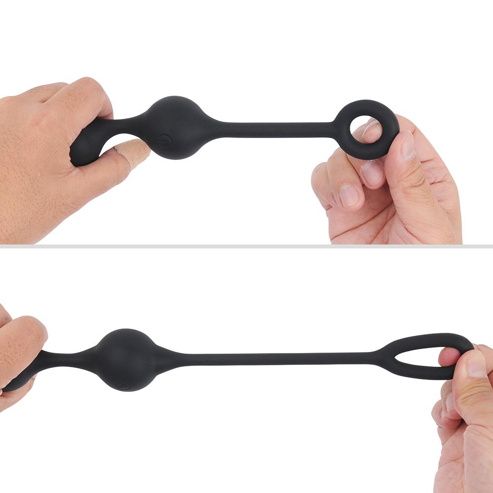 手元のリングと柄は伸縮性に優れていて、本体を引き抜くときの心地よい抵抗感に貢献します。