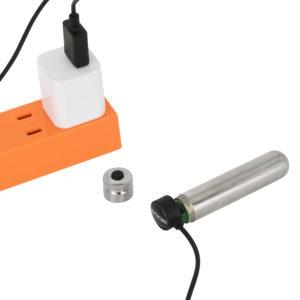 フル充電まで約30分、連続可動は約170分という、スタミナ自慢のバッテリー。ユーティリティに優れます。